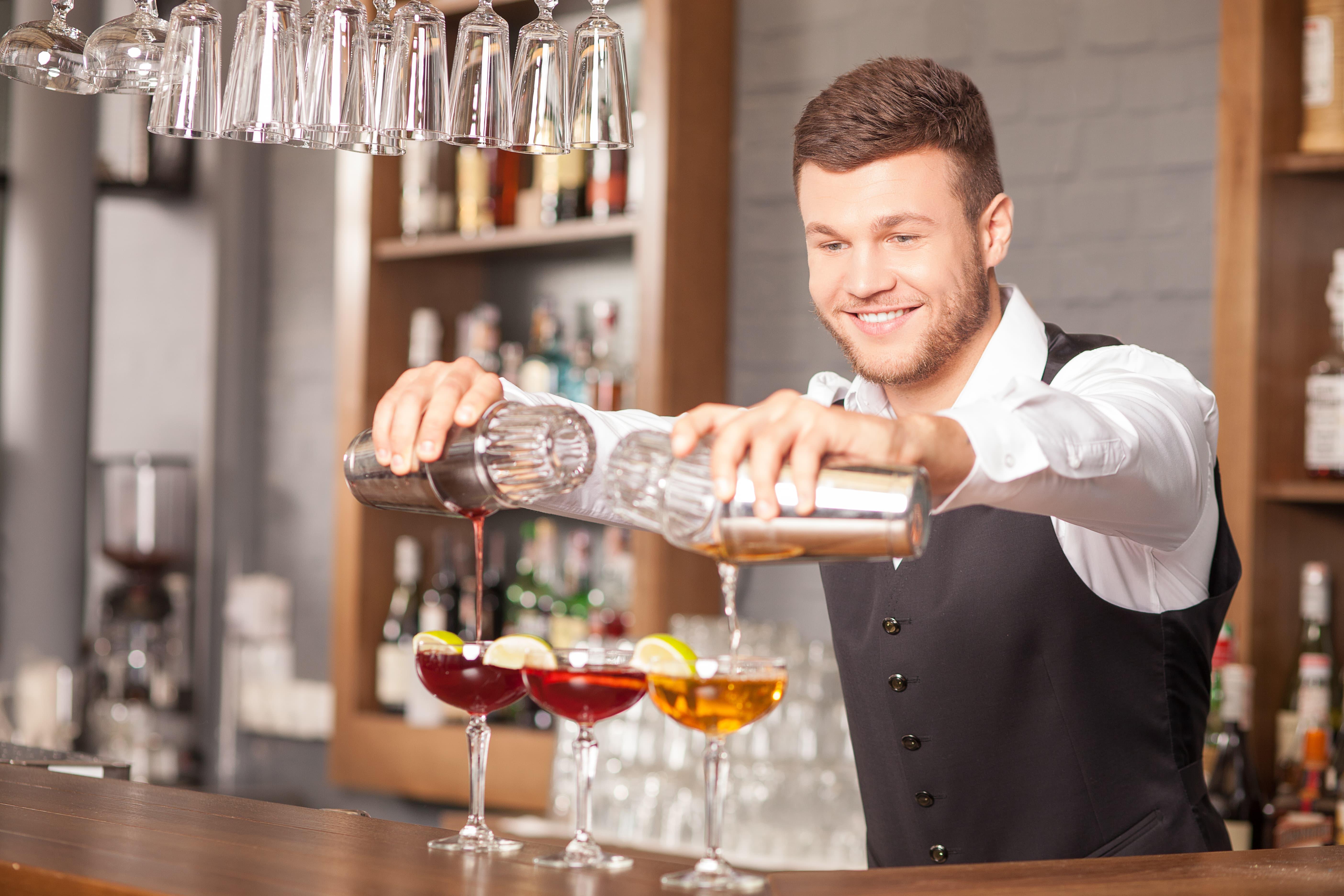Вакансия бармен